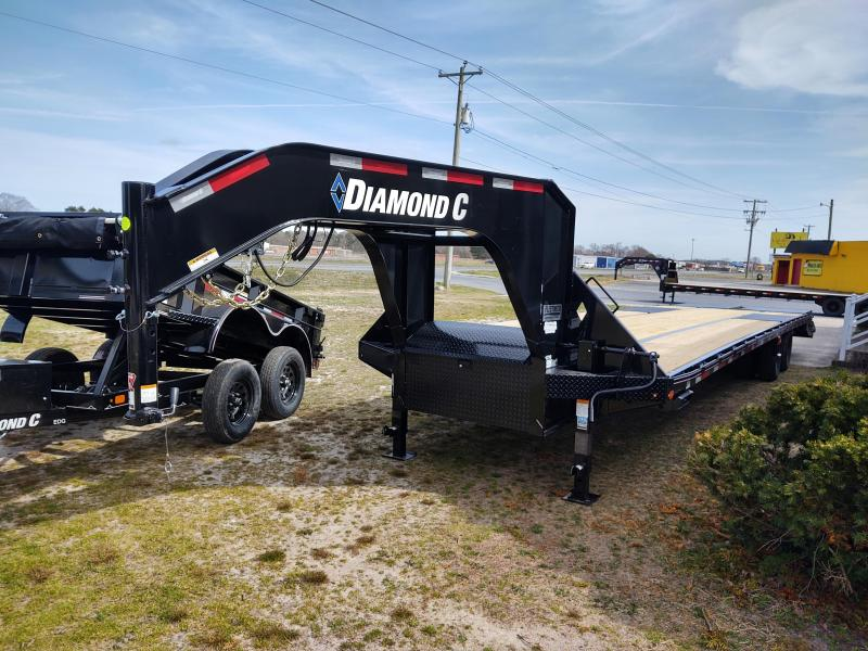 2021 Diamond C Trailers FMAX210 Equipment Trailer