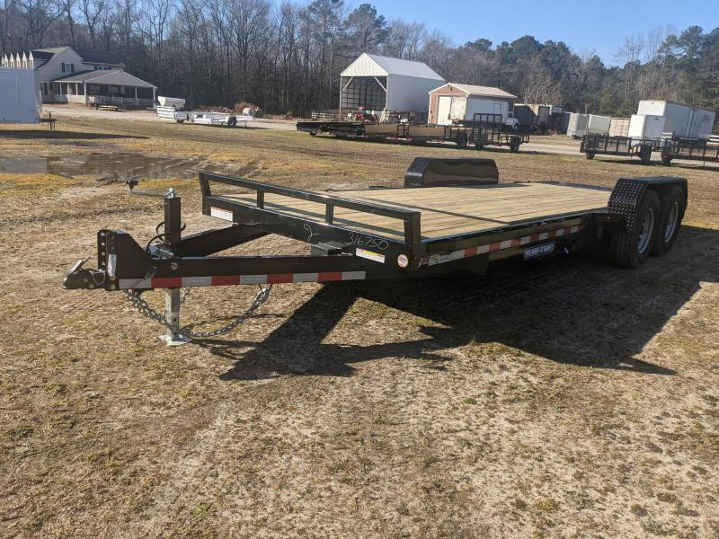 2021 Sure-Trac 7 x 16+4 Tilt Bed Equipment Trailer  14K