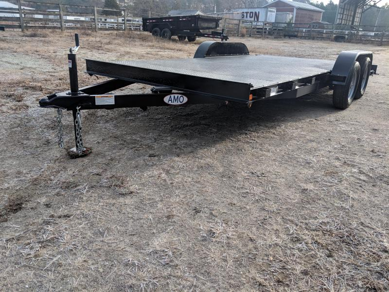 2020 American Manufacturing Operations (AMO) 18' SFCH Equipment Trailer