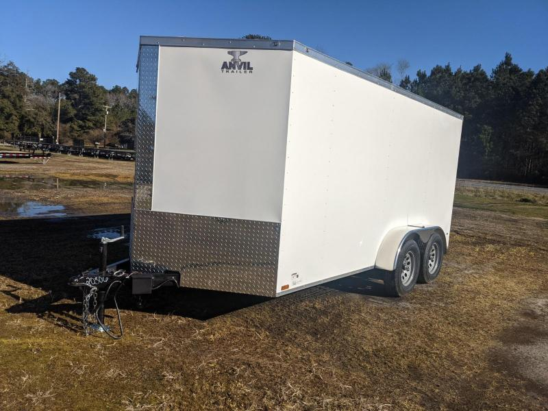 2021 Anvil 7X14 Enclosed Cargo Trailer