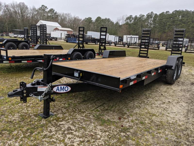 2021 American Manufacturing Operations (AMO) 20' EQU Equipment Trailer