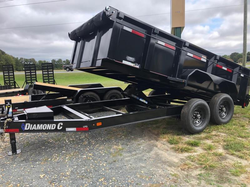 2021 Diamond C Trailers LPD 82X14 Dump Trailer