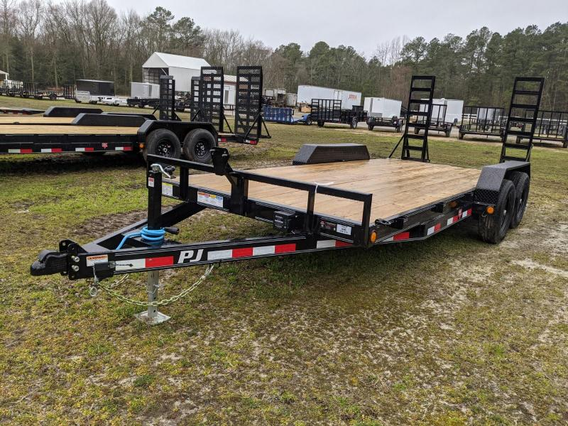 2021 PJ Trailers CE18 Equipment Trailer