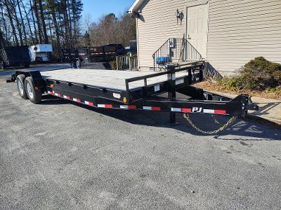 2020 PJ Trailers 24' C8 2-8KS Equipment Trailer