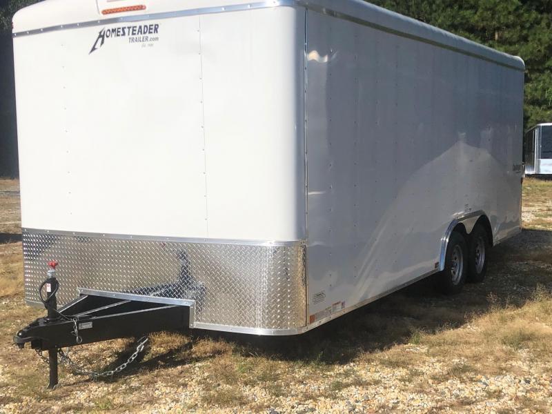 2021 Homesteader Trailers 8.5x20 Enclosed Cargo Trailer