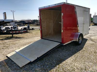 2020 Spartan 6x12 SA Two-Tone Enclosed Cargo Trailer