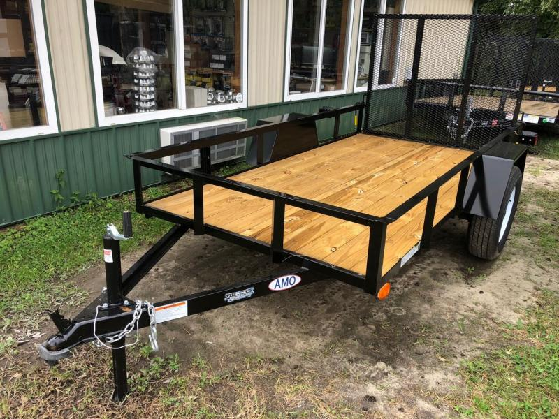 2021 American Manufacturing Operations (AMO) 5X10 Utility Trailer