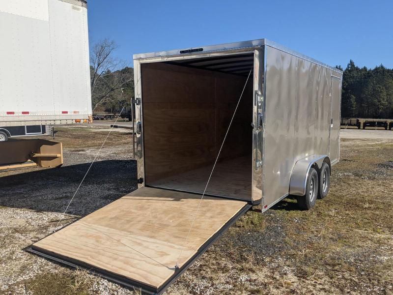 "2021 Arising 7X16 PEWTER 7K 6"" UP Enclosed Cargo Trailer"