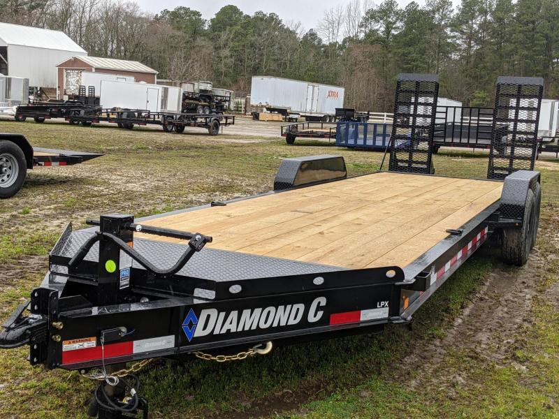 2021 Diamond C Trailers 24' LPX Equipment Trailer