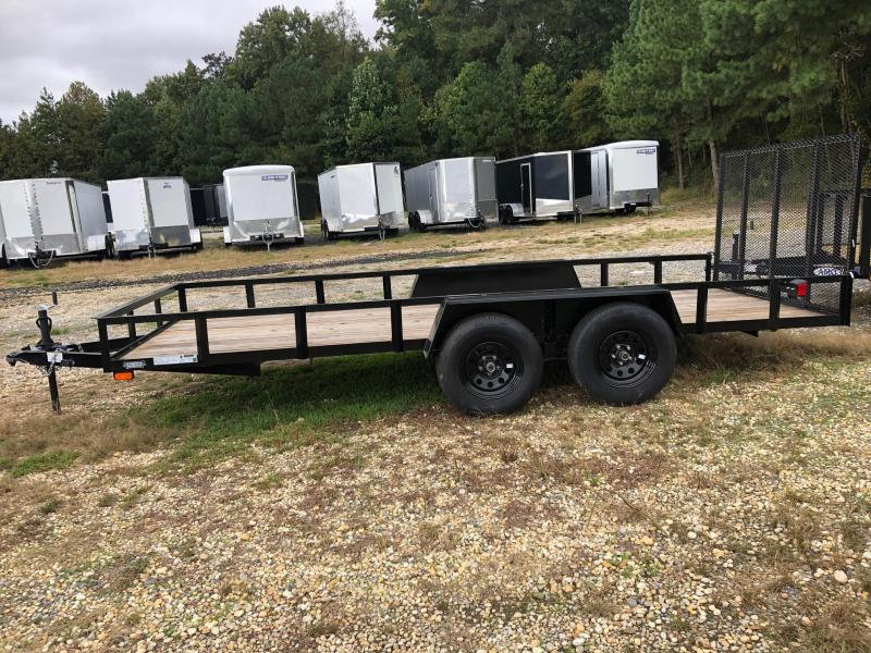 2021 American Manufacturing Operations (AMO) 76X16 Utility Trailer