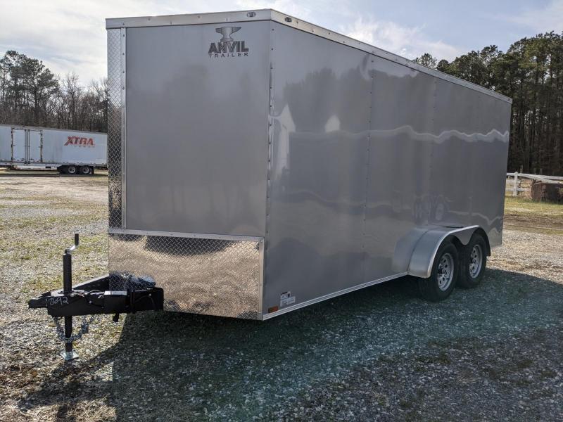 2021 Anvil 7X16 Enclosed Cargo Trailer