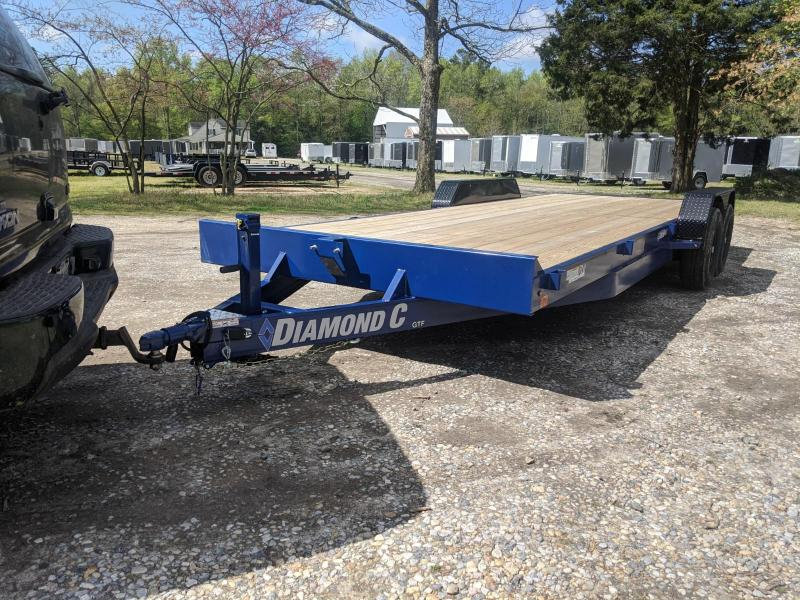 2020 Diamond C Trailers GTF 22' Equipment Trailer