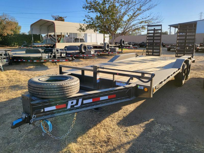 2022 PJ Trailers H7202 Equipment Trailer