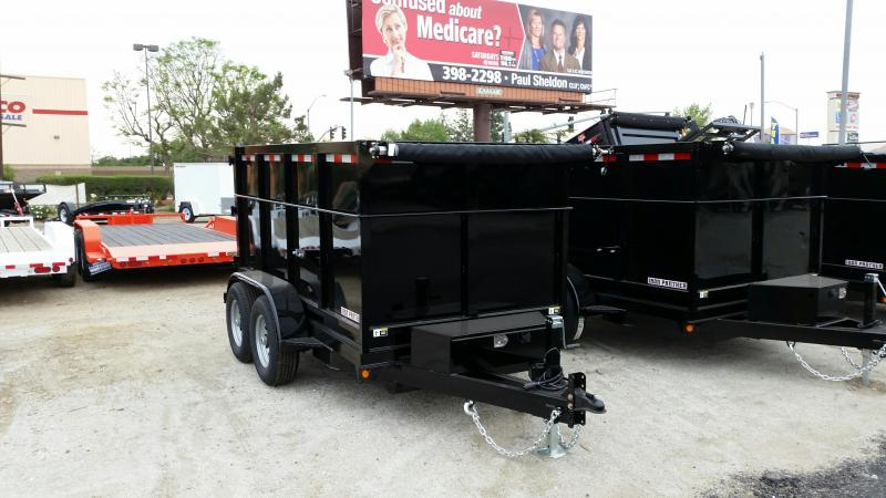 2020 Iron Panther 6X4X12 Dump Trailer