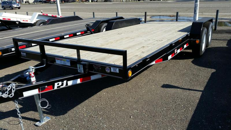 2019 PJ Trailers 5 in. Channel Carhauler (C5) Car / Racing Trailer
