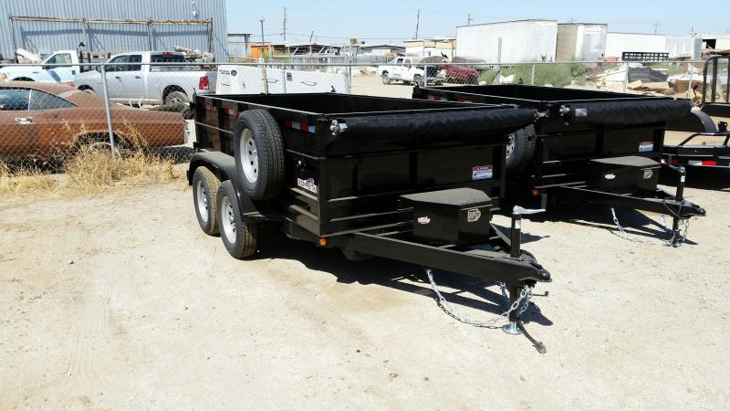 2020 Iron Panther DT212 6X12 Dump Trailer
