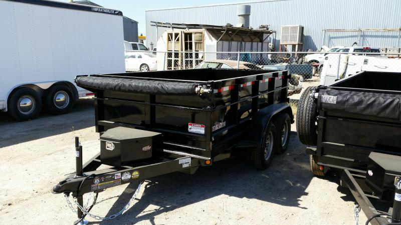 2020 Iron Panther DT212 6X12 Dump Trailer