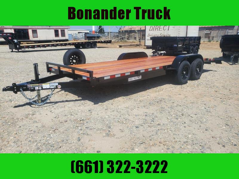 2021 Iron Panther 7 X 20 CAR HAULER Car / Racing Trailer