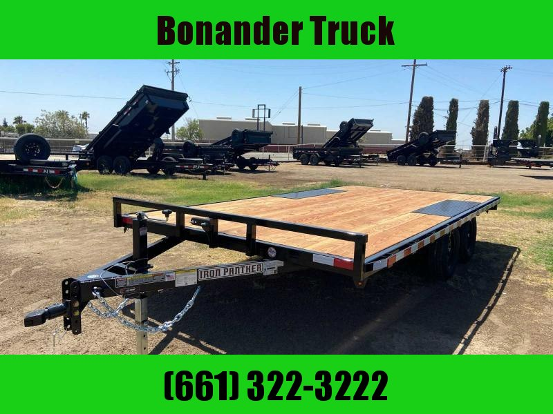 2022 Iron Panther DECKOVER16FT Flatbed Trailer