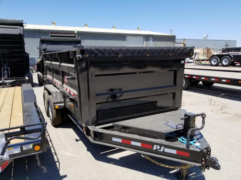 2021 PJ Trailers 83 Low Pro High Side Dump (DM) Dump Trailer