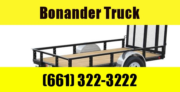 2020 PJ Trailers 60 in. Single Axle Channel Utility (U6) Utility Trailer