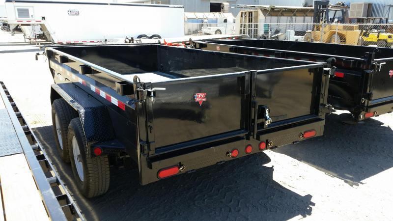 2021 PJ Trailers 72 in. Tandem Axle Dump (D3) Dump Trailer