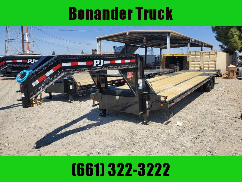 2022 PJ Trailers LD342 Flatbed Trailer