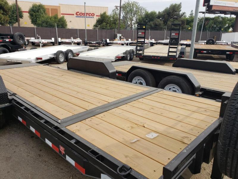2021 PJ Trailers 6 in. Channel Equipment Tilt (T6) Equipment Trailer