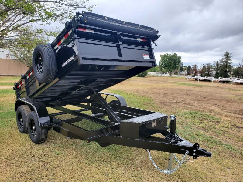 2021 Iron Panther 6X12 DUMP TRAILER Dump Trailer