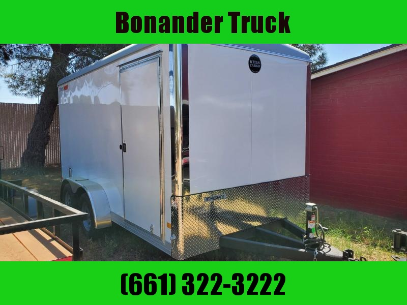 2021 Wells Cargo 7X14 HD Enclosed Cargo Trailer