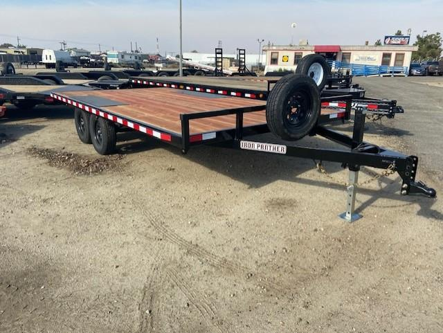 2021 Iron Panther ET1918.5X16 Deckover Equipment Trailer
