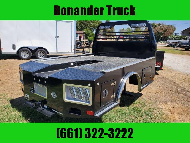 "2019 PJ Truck Beds GH-8'6""-82""-58""-42"" Truck Bed"