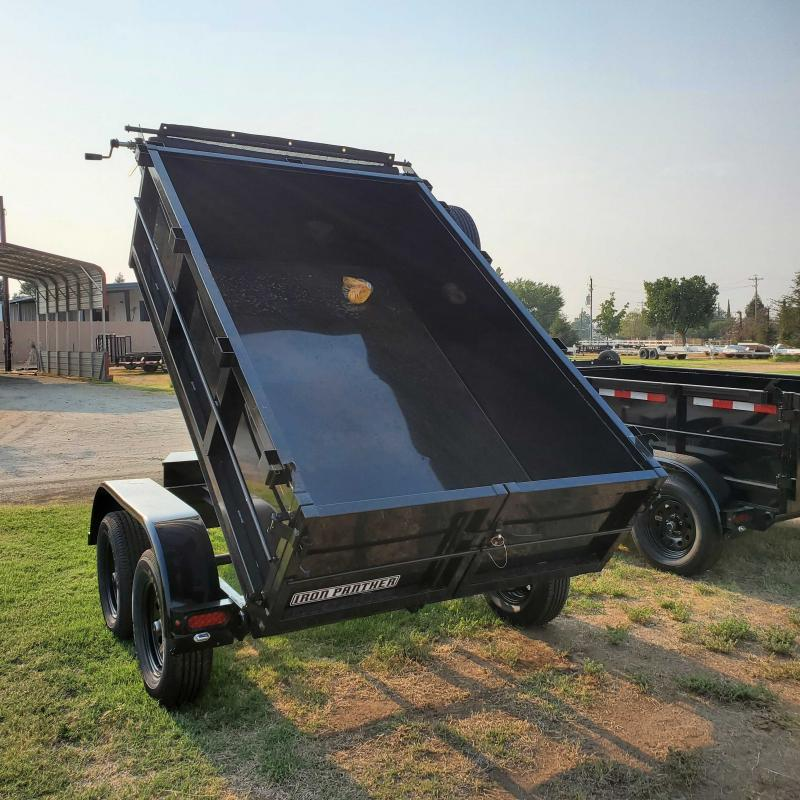 2022 Iron Panther DT5X8X2 Dump Trailer