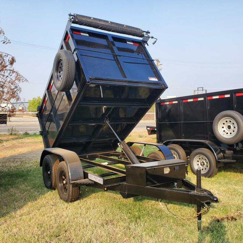 2022 Iron Panther DT5X8X4 Dump Trailer