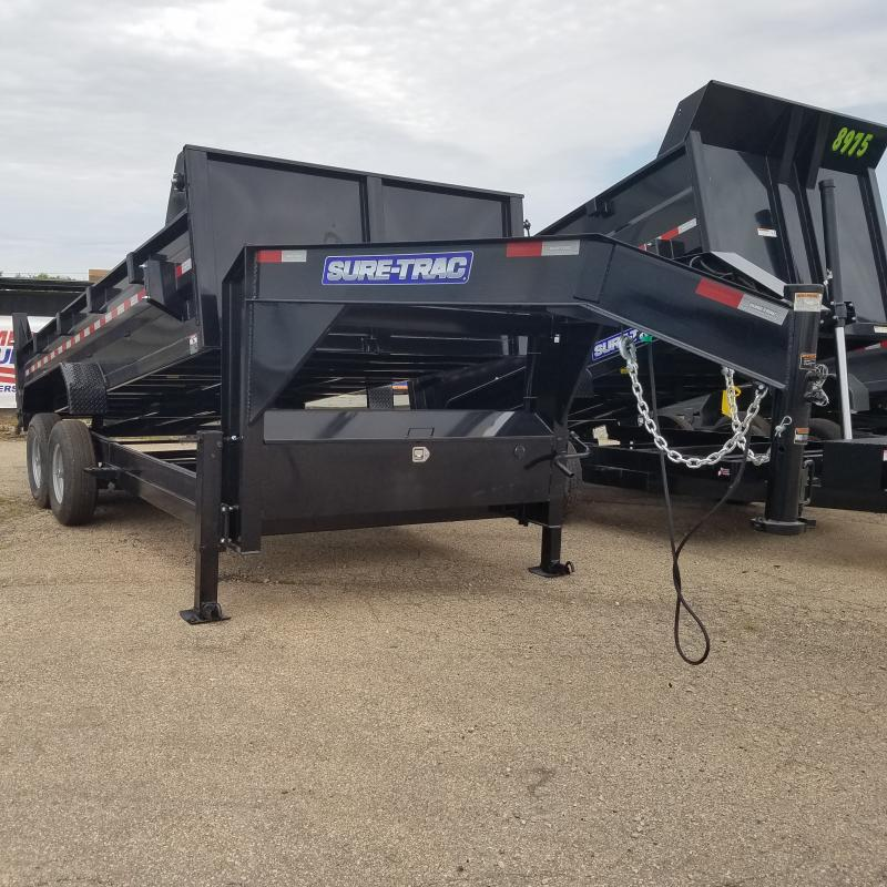 2021 Sure-Trac 82 IN X 16 LP 14K Goose Scissor Dump