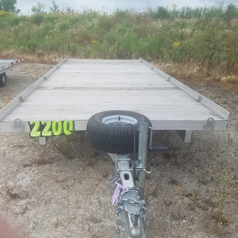 2012 Triton Aluminum USED Aluminum 6.5x16.5 Utility Trailer