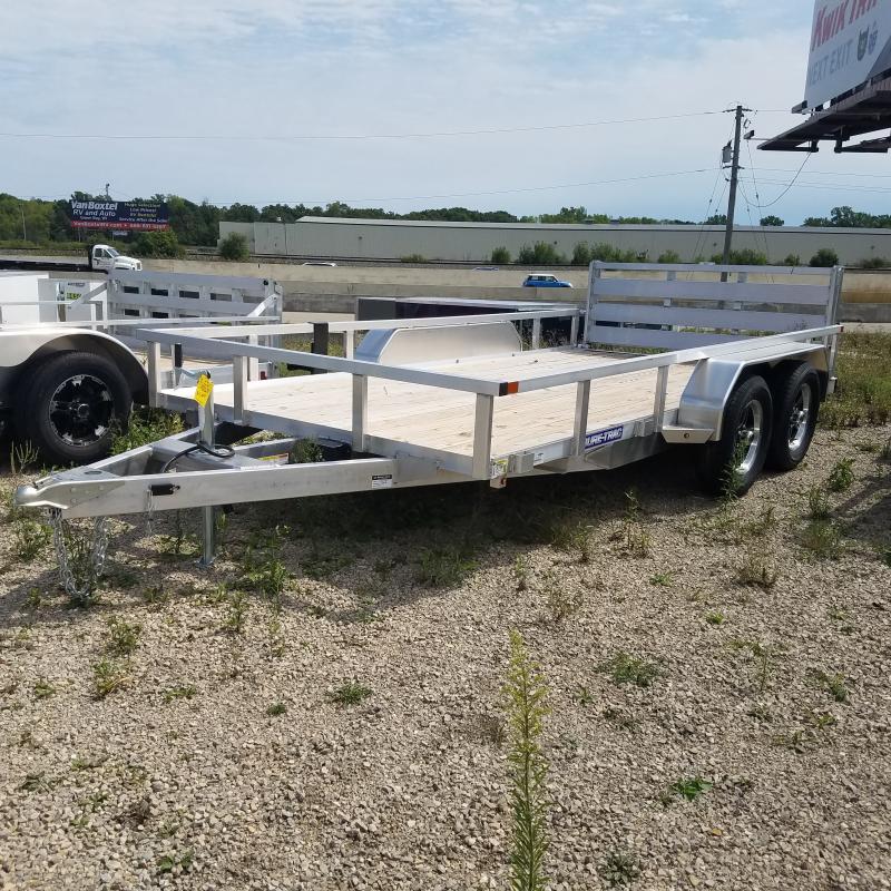 2020 Sure-Trac 7 X 14 Aluminum Tube Top  7K Tandem