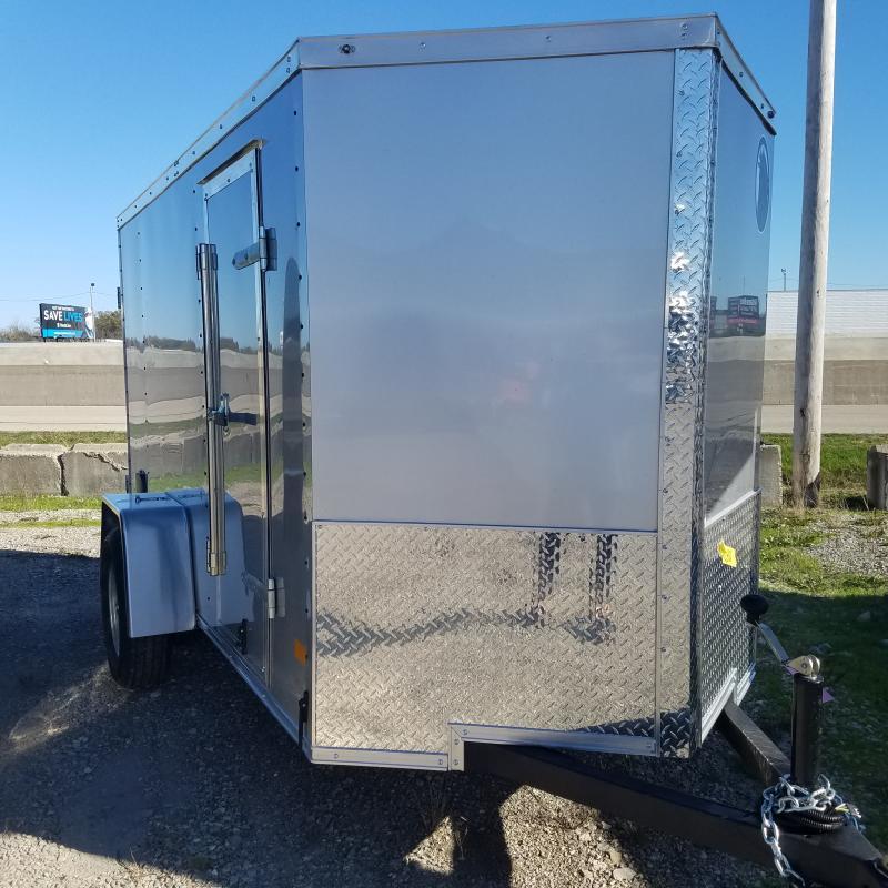 2022 Darkhorse 5x10 Double Door Enclosed Cargo Trailer