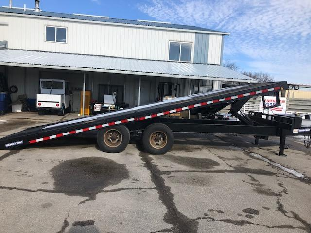 2013 Sure-Trac Hydraulic Tilt Equipment Trailer