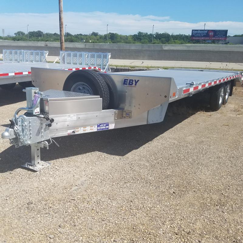 2021 EBY 8.5x24.6 Deck Over Equipment Trailer