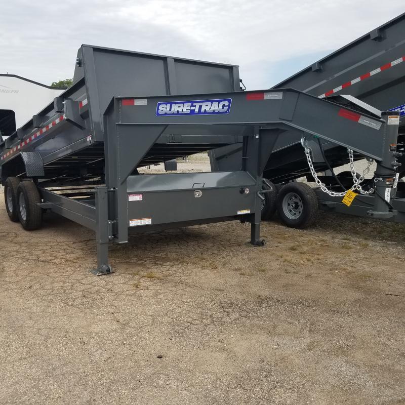 2021 Sure-Trac 82 IN X 16 LP 14K Goose Scissor Dump