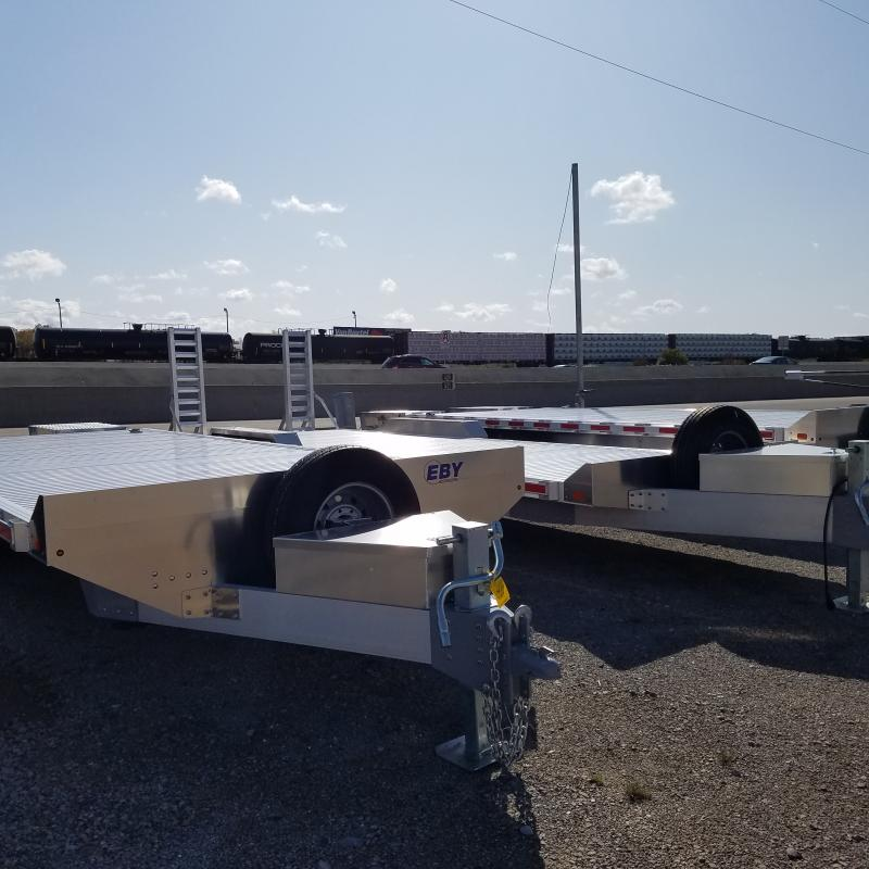 2019 Aluminum 25' Low Pro Equipment Equipment Trailer