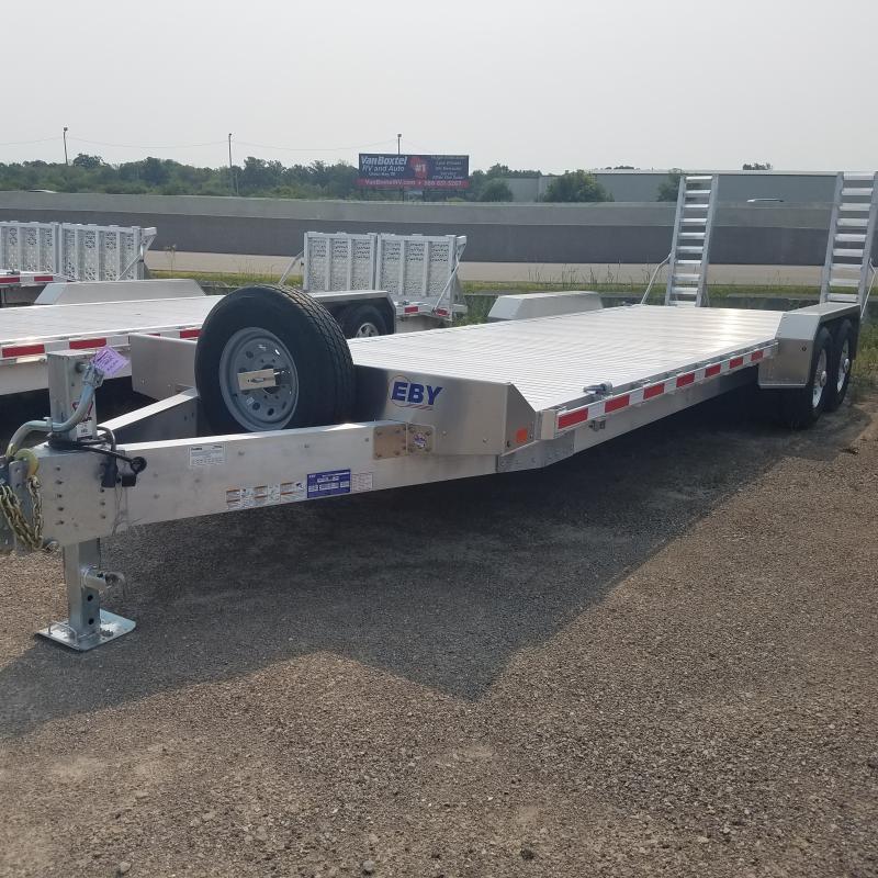 2021 EBY 8.5 x 24.6 Aluminum Equipment Trailer