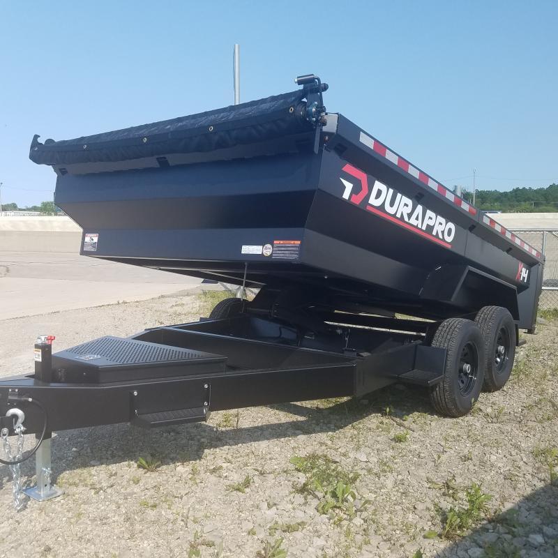 2021 DuraPro 7x14 Dump Trailer