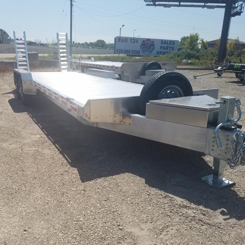 2021 EBY 8.5x25.6 Aluminum Lo Pro Equipment Trailer