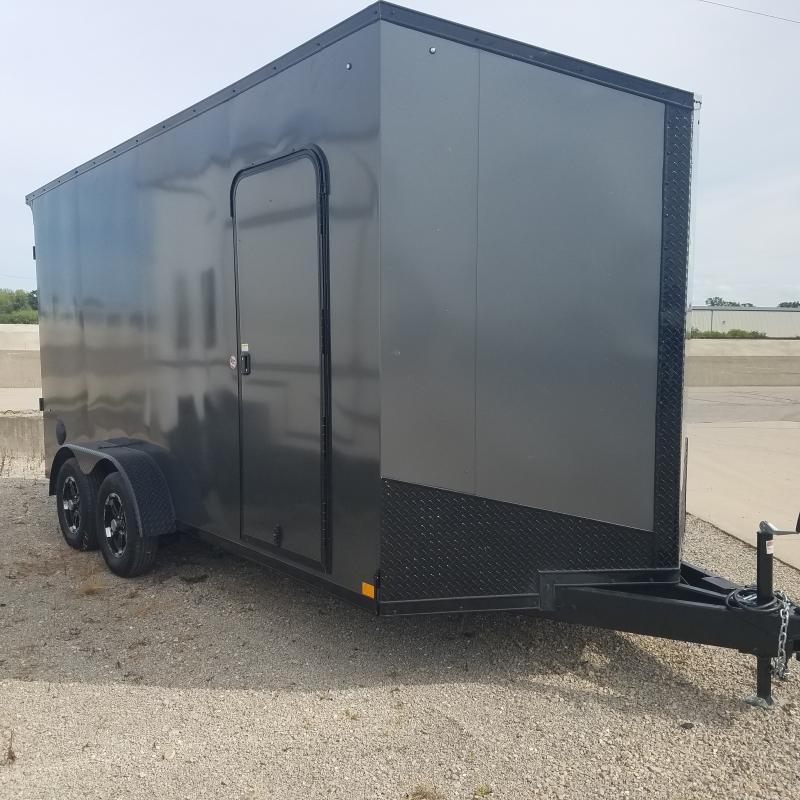 2022 Impact Trailers 7x16 UTV Enclosed Cargo Trailer
