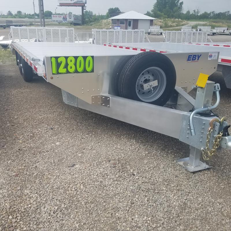 2021 EBY 8.5 x 24.6 Deckover Equipment Trailer
