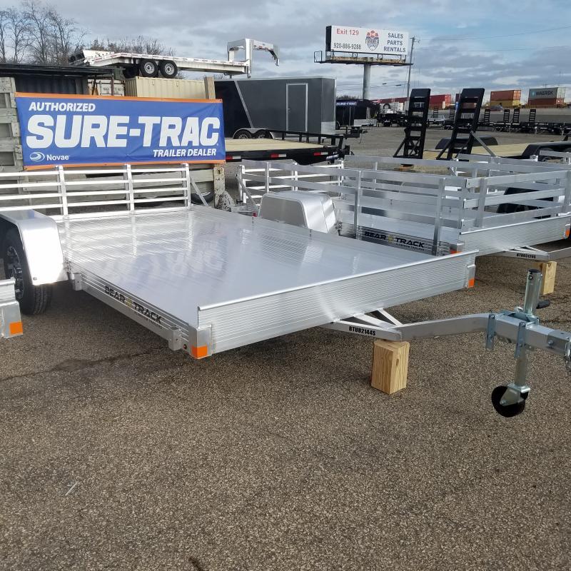 2020 Bear Track 7x12 Aluminum Utility Trailer