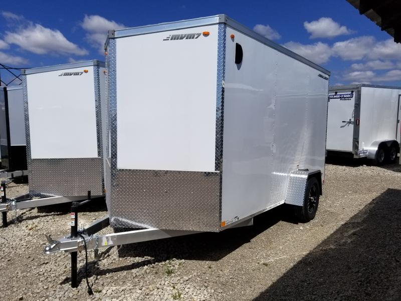 2019 MVM7 6x12 Aluminum Enclosed Cargo Trailer