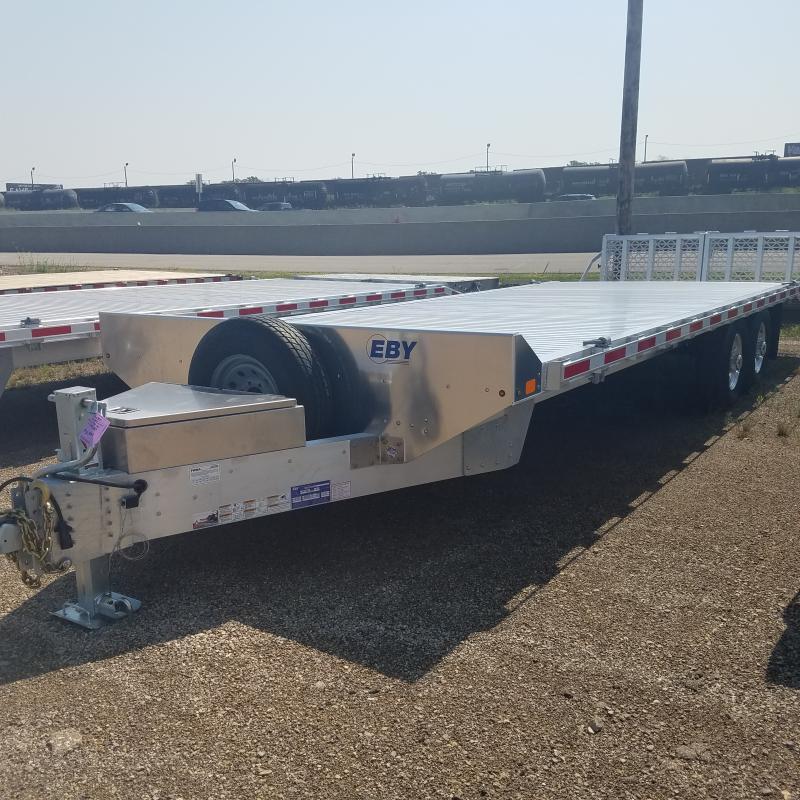 2021 EBY 8.5x 24.6 Aluminum Equipment Trailer